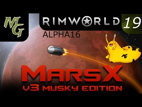 Let's Play – RimWorld Modded Alpha 16 – Mars - Episode 19 [Rooms and Resets]: