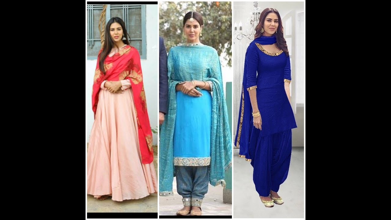 Sonam Bajwa\'s Punjabi Suit Collection//Sonam Bajwa Outfits#Sonam ...