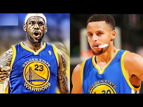 Stephen Curry and LeBron James on the Warriors with Kevin Durant - LeBron James Joins The Warriors