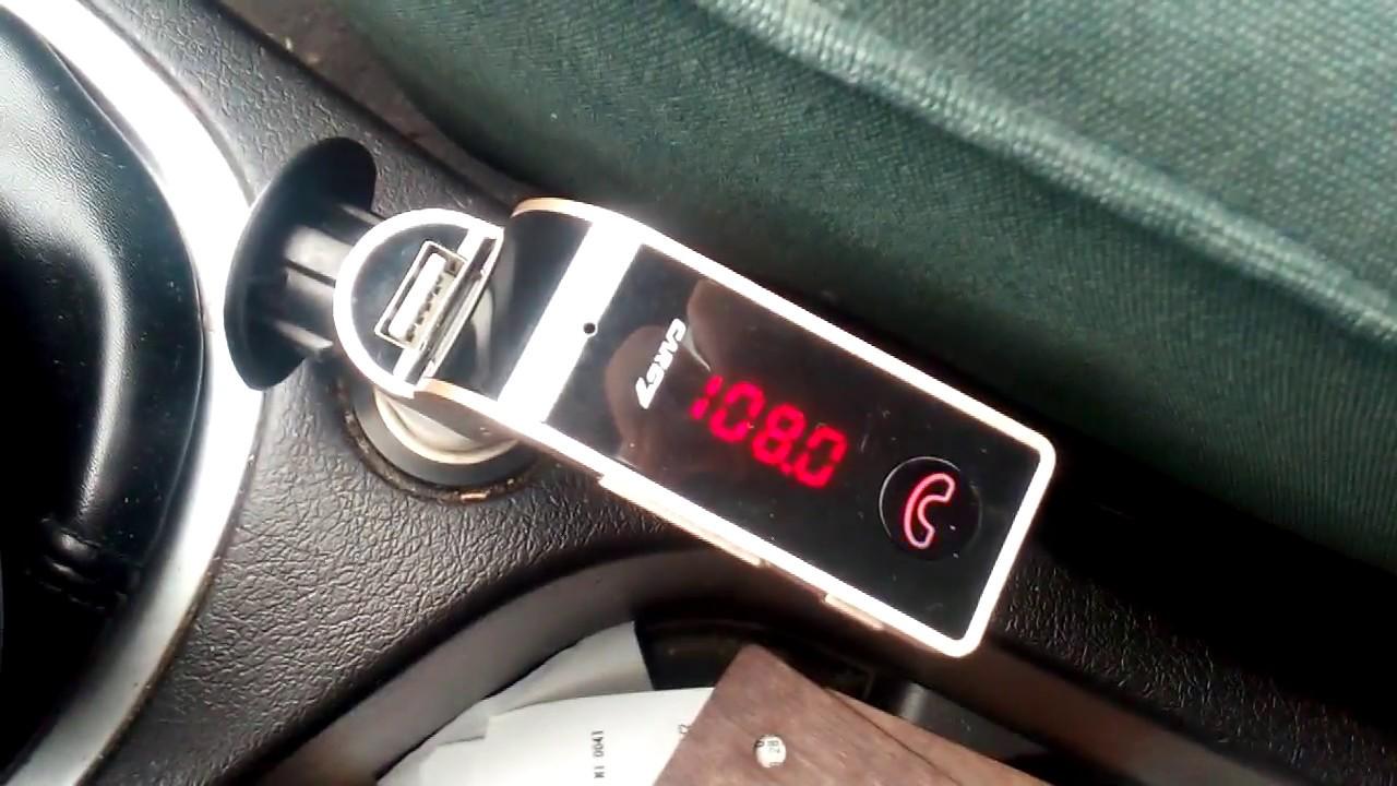 Wireless Bluetooth Car Fm Transmitter Mp3 Radio Player Charger Car G7 Part Ii
