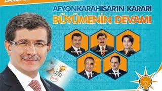 AK Parti iktidarı döneminde 13 yılda Afyonkarahisar'a yapılan icraatlar