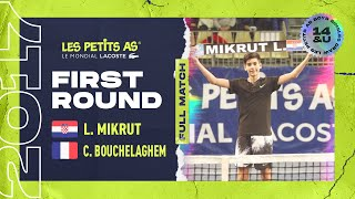 Luka MIKRUT (CRO) vs César BOUCHELAGHEM (FRA) - 1st round main draw - Les Petits As 2017