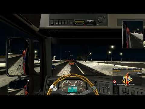 ETS2 Spezial Transport, Dortmund   Hannover, Winter 2