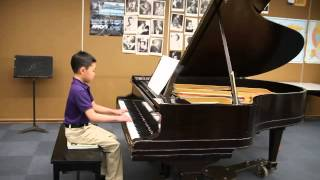 Sebastian plays Anglaise in D minor, by Anonymous.