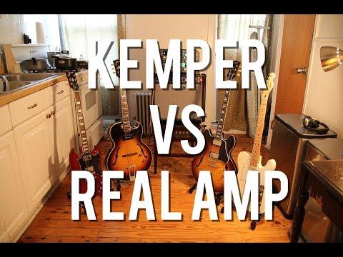 Kemper Profiling Amp Vs. Real Amp (Mesa) - Shootout!!