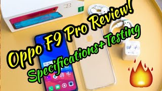 OPPO F9 PRO REVIEW   Specifications + Testing  🔥