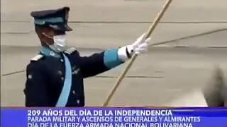 Academia Militar de Oficiales de Tropa C/J Hugo Rafael Chávez Frías en el desfile de 5 de Julio