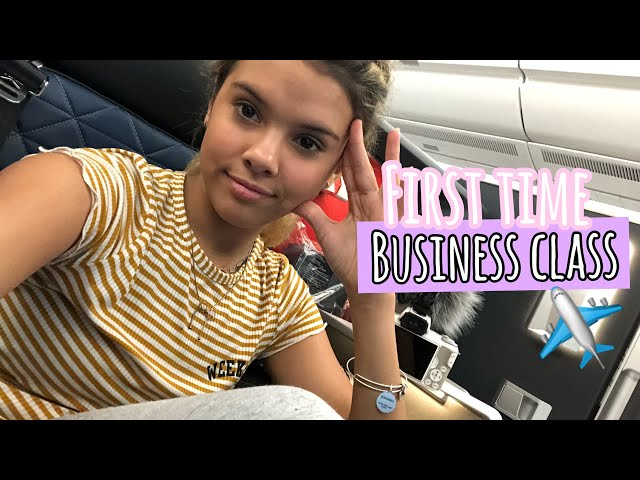FiRST TiME FLYiNG Business Class to CHiNA!