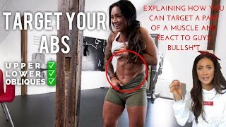 THE TRUTH ABOUT TARGETING THE ABS - EASY WORKOUT NO EQUIPMENT