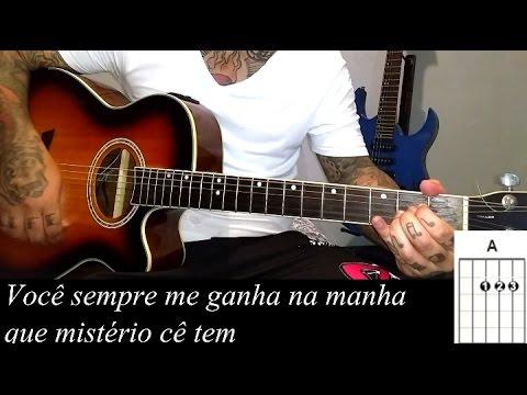 Matheus e Kauan - Te assumir pro Brasil como tocar no violão Simplificada
