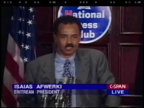 President Isaias Afwerki Press Conference in Washington DC