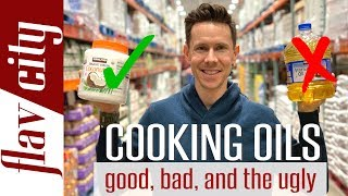 7 Cooking Oils Explained At Costco..The Good, Bad & Toxic!