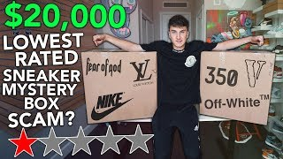 the-20-000-00-lowest-rated-sneaker-mystery-box-unboxing