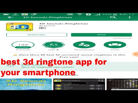 Best 3D Ringtone Apps 2018 For Android