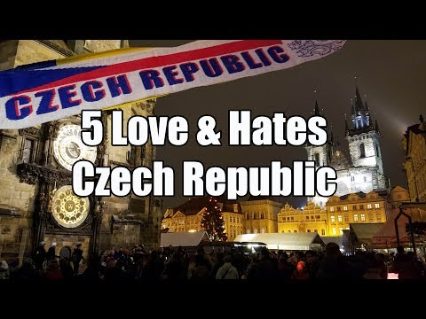 Visit The Czech Republic - 5 Things You Will Love & Hate abo
