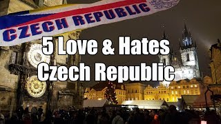 Visit The Czech Republic - 5 Things You Will Love & Hate about The Czech Republic