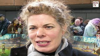 Selina Griffiths Interview Early Man Premiere