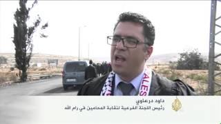 احتجاجات شعبية ونقابية في الضفة الغربية