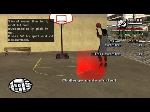 GTA San Andreas - Basketball