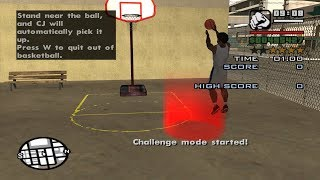 GTA San Andreas - Basketball
