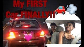 Vlog #17 My FIRST Car FINALLY !!