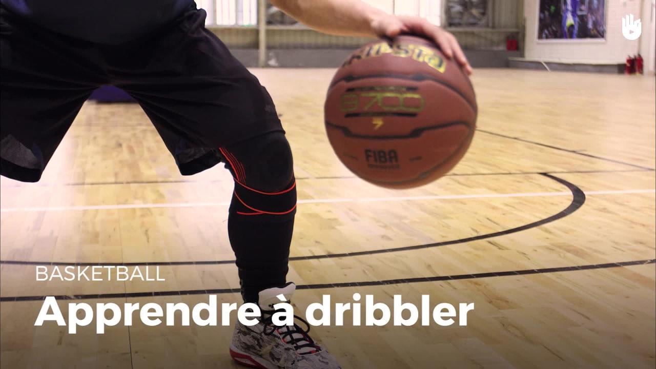 2d5a24c53309 Apprendre à dribbler | Basketball - YouTube