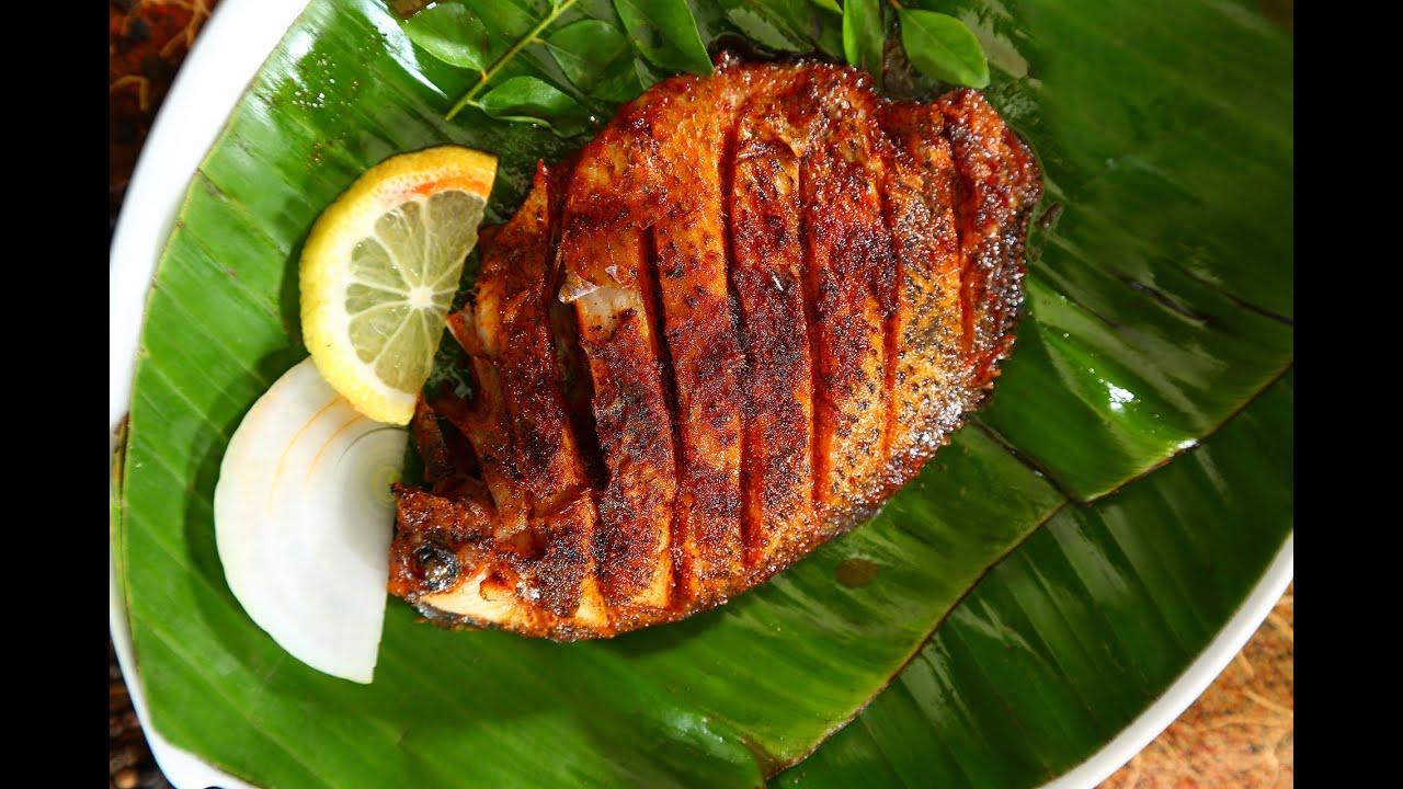 Image result for Karimeen pollichathu (fish)