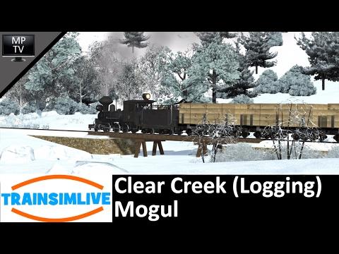 Train Simulator - Clear Creek (Logging), Mogul