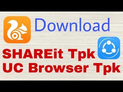 SHAREit tpk file download and UC Browser for Tizen tpk download for Samsung Z2, Z1, Z3