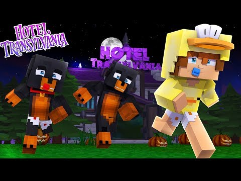 DO NOT ENTER HOTEL TRANSYLVANIA ON FRIDAY THE 13TH!!! Baby Duck Minecraft