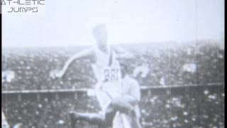 TAJIMA NAOTO JAPAN TRIPLE JUMP 16.00m GOLD MEDAL BERLIN 1936 OLYMPICS