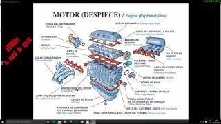 Componentes y Partes que Forman el Motor de un Carro thumbnail
