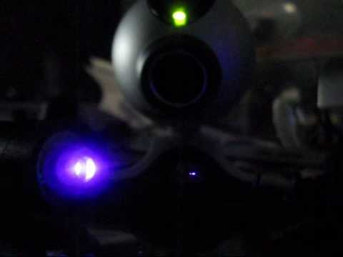 Bluray laser Optical Trapping