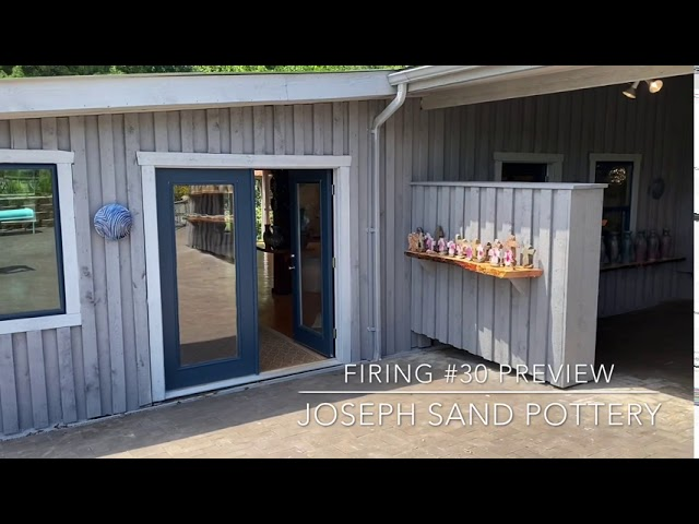 Summer 2020 Preview for Joseph Sand Pottery