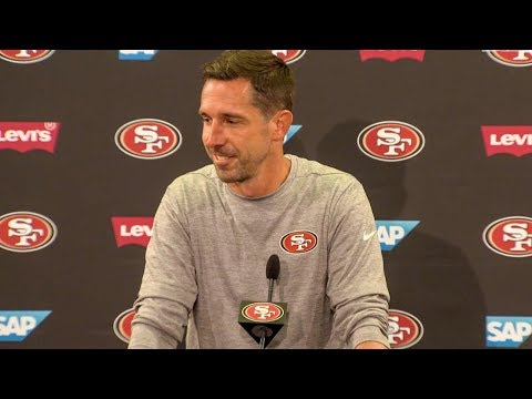 Kyle Shanahan Discusses Building a 53-Man Roster