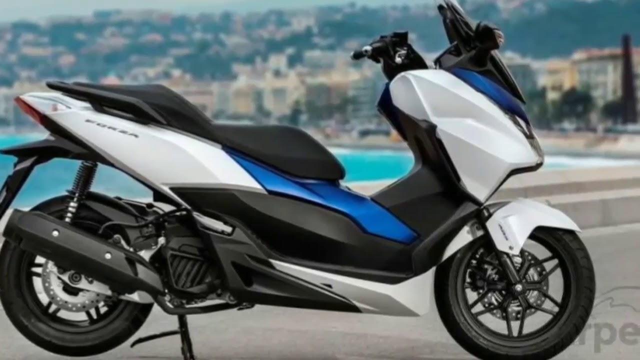 New Forza 300 2018 >> 2018 Honda Forza 150 Challenger yamaha xmax Test - YouTube