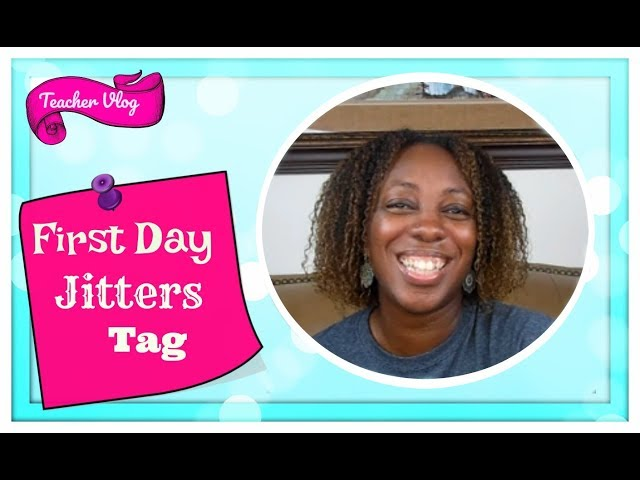First Day Jitters Teacher Tag