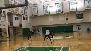 Marcus Smart, Jaylen Brown, Gerald Green play 1-on-1