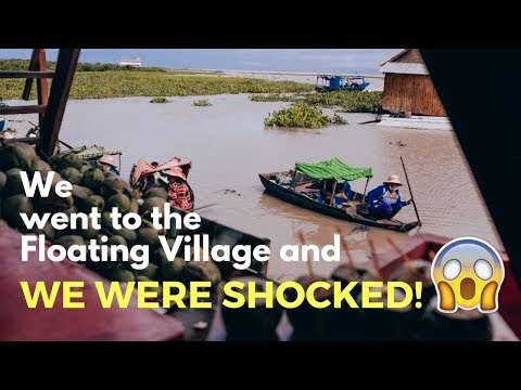 We went to the floating village and were shocked