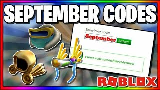 *SEPTEMBER 2019* ALL WORKING PROMOCODES IN ROBLOX!