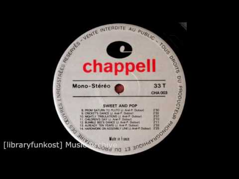 Jack Arel & Pierre Dutour - Cricket's Dance (Chappell - CHA 003 - Sweet And Pop)