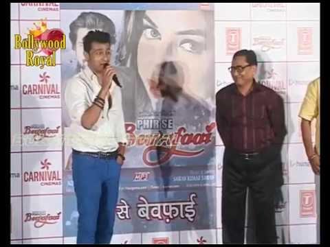 Sonu Nigaam at Father Agam Nigaam's Album Launch 'Phir Se Bewafaai' Part  2