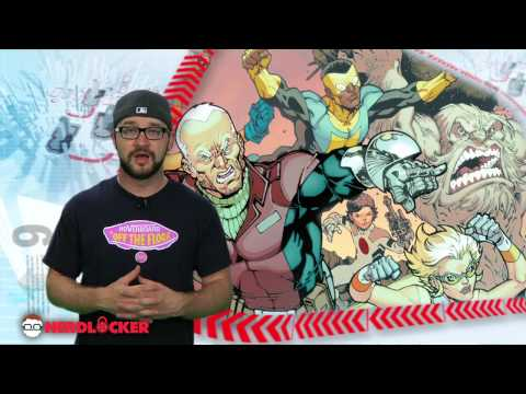 Nerdlocker Comic Book Review - Guarding The Globe #1