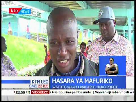 Watoto wawili wafariki baada ya maporomoko ya ardhi Pokot