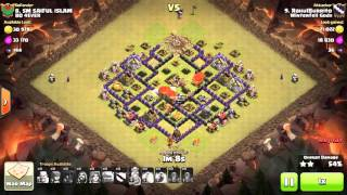Clash of Clans - TH8 - GoVaLo - War 114 vs BD 4EVER - RahulBurrito vs #8