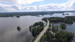 In Finland over Sääksmäki