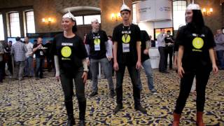 cyberghost flashmob how to web bucharest 2013