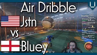 Jstn vs Bluey | Unlimited Boost Air Dribble Only 1v1