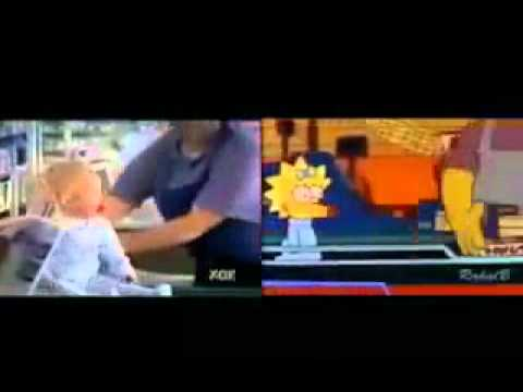 Os Simpsons na vida REAL.wmv Videos De Viajes
