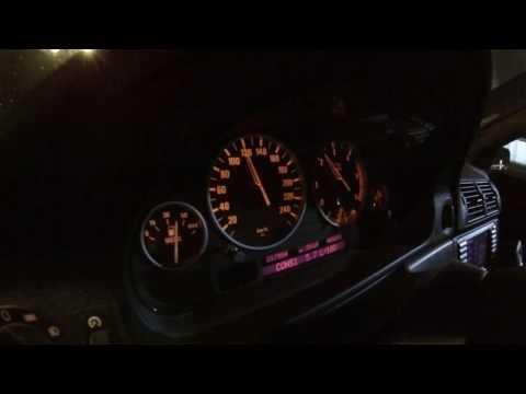 BMW E39 3.0d fuel consumption test